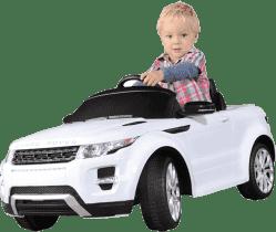 BUDDY TOYS Elektrické Auto Rover biele