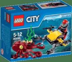 LEGO® City Deep Sea Explorers Potápačský hlbinný skúter
