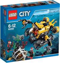 LEGO® City Deep Sea Explorers Hlubinná ponorka
