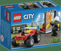 LEGO® City Fire Strażacki quad