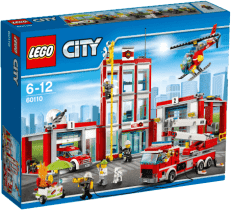 LEGO® City Fire Remiza strażacka