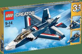 LEGO® Creator Błękitny odrzutowiec
