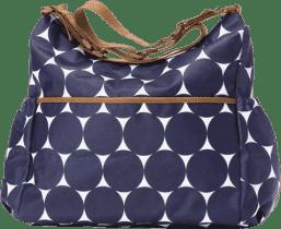 BABYMEL Přebalovací taška Slouchy Jumbo Dot Navy