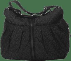 BABYMEL Prebaľovacia taška Amanda Quilted čierna