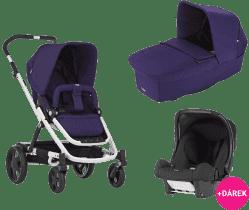 BRITAX Kombinovaný kočík Go 2016 – Mineral purple