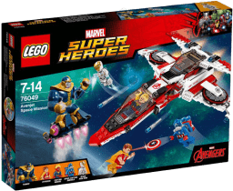 LEGO® Super Heroes Vesmírná mise Avenjet