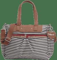 BABYMEL Přebalovací taška Cara Stripe Navy
