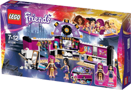 LEGO® Friends Garderoba gwiazdy Pop
