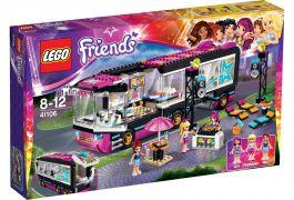 LEGO® Friends Autobus pro turné popových hvězd