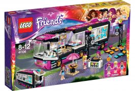 LEGO® Friends Autobus pre turné popových hviezd