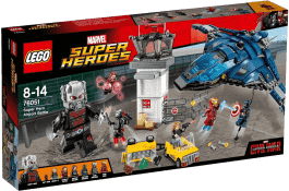 LEGO® Super Heroes Confidential Captain America Movie 2