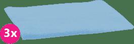 SCAMP Pieluszki bawełniane jasnoniebieskie 3 szt.