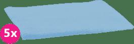 SCAMP Pleny bavlněné světle modré 5ks