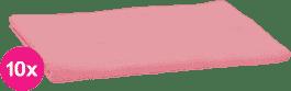 SCAMP Pleny bavlněné světle růžové 10ks