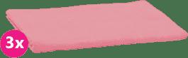 SCAMP Pieluszki bawełniane jasnoróżowe 3 szt.