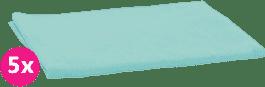 SCAMP Pleny bavlněné tyrkys 5ks