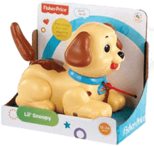 FISHER-PRICE Ťahací Snoopy