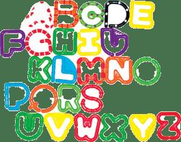 SASSY Alfabet do łączenia A-Z