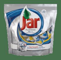 JAR kapsule na umývanie riadu Platinum 20ks (Premium klub)