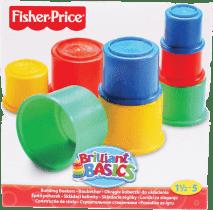 FISHER-PRICE Skladacie kelímky