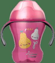 TOMMEE TIPPEE Netekoucí hrnek Explora Easy Drink 6m+, 230ml-dívka