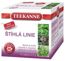 TEEKANNE bylinný čaj - štíhlá linie, 10 sáčků