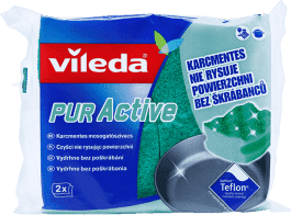 VILEDA PUR active hubka stredný (2 ks)
