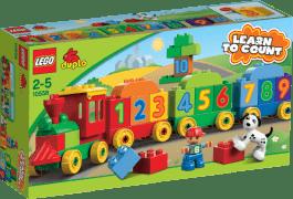 LEGO® DUPLO® Pociąg z cyferkami