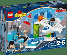 LEGO® DUPLO® Miles Milesův hangár pro jeho vesmírnou loď Stellu