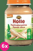 6x HOLLE Bio Pastyňákové pyré - zeleninový příkrm, 190g