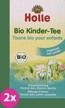 2x HOLLE Bio-detský čaj, 30g