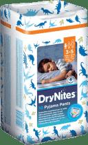 HUGGIES® DryNites dla chłopców 3-5 lat, , 10 szt. (16-23 kg) - superchłonne majteczki
