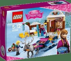 LEGO® Disney Princezné Dobrodružstvo na saniach s Annou a Kristoff