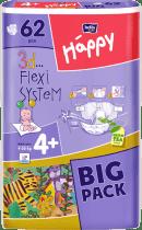 BELLA HAPPY Maxi Plus (9-20 kg) Big Pack 62ks - plienky pre deti