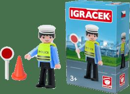 IGRÁČEK Dopravný policajt s doplnkami