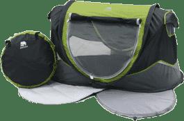 DERYAN Sunny Bebe łóżeczko turystyczne – zielone