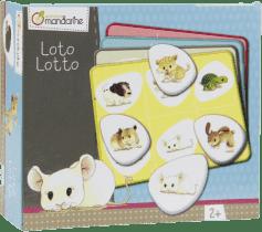 AVENUE MANDARINE Detská hra Loto Zvieratká