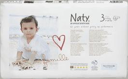 NATY NATURE BABYCARE MIDI 3, 52 ks (4 - 9 kg) ECONOMY PACK - jednorázové plienky
