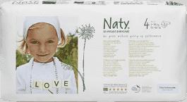 NATY NATURE BABYCARE MAXI 4, 46 ks (7 - 18 kg) ECONOMY PACK - jednorázové plienky