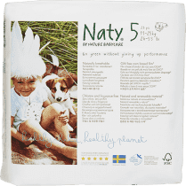 NATY NATURE BABYCARE Junior 11-25 kg (23 ks) - jednorázové plienky