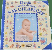 DENÍK našeho děťátka Náš chlapeček (modrý)
