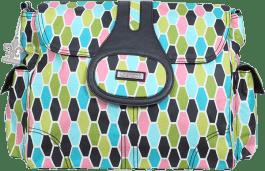 KALENCOM Přebalovací taška Elite Coated Honeycomb Green