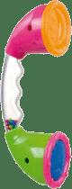 CANPOL Babies Chrastítko telefon průhledný – mix barev