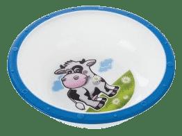 CANPOL Babies Plastová miska s protišmykovým dnom - modrá