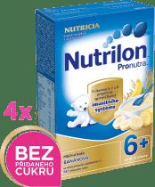 4x NUTRILON ProNutra banánová (225g) - mléčná kaše