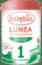 BABYBIO Lunea 1 počiatočná mliečna dojčenská výživa v prášku 900g