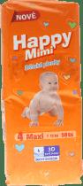HAPPY MIMI detské plienky Standard Maxi 50 ks