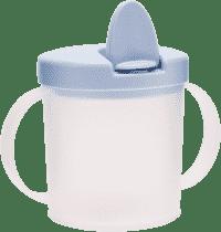 CANPOL Babies Hrnček s náustkom BASIC- modrá 200 ml