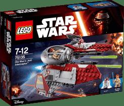 LEGO® Star Wars TM Obi-Wan 's Jedi Interceptor ™ (Obi-Wanovho Jedijská stíhačka)