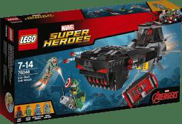 LEGO® Super Heroes Atak Żelaznej Czaszki